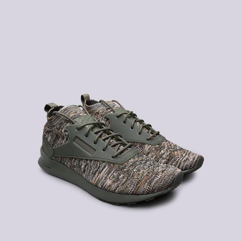 зелёные  кроссовки reebok zoku runner ultk multi CM9675 - цена, описание, фото 4