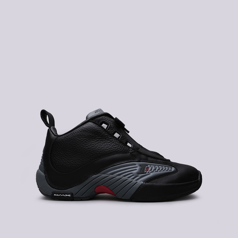 Кроссовки Reebok Answer IVКроссовки баскетбольные<br>Кожа, синтетика, текстиль, резина<br><br>Цвет: Черный<br>Размеры US: 7.5;8.5;9<br>Пол: Мужской