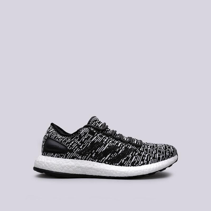 Кроссовки adidas PureBoostКроссовки lifestyle<br>Текстиль, синтетика. резина<br><br>Цвет: Черный<br>Размеры UK: 7;7.5;8;8.5;9;9.5;10;10.5;11<br>Пол: Мужской