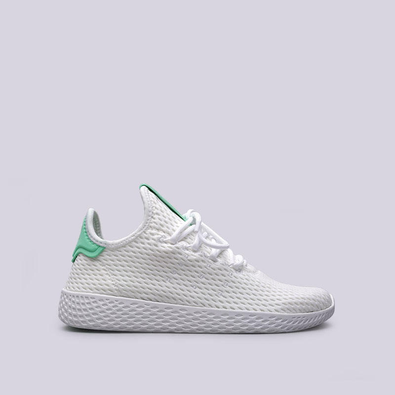 Кроссовки adidas PW Tennis HUКроссовки lifestyle<br>Текстиль, кожа, резина<br><br>Цвет: Белый<br>Размеры UK: 4.5;5;5.5;6;6.5;7.5;8;8.5;9;9.5;10;10.5;11;11.5