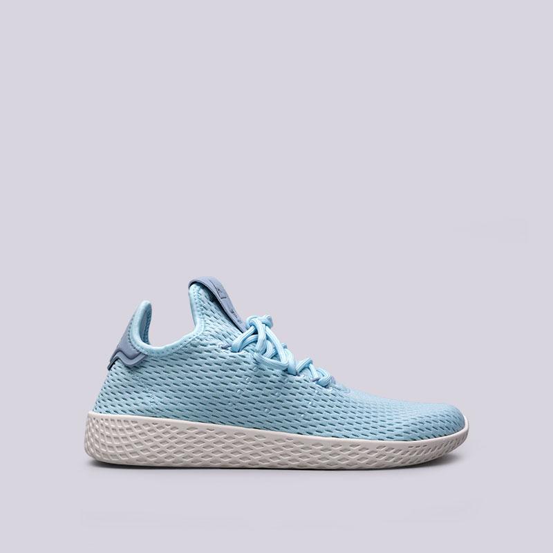 Кроссовки adidas PW Tennis HUКроссовки lifestyle<br>Текстиль, кожа, резина<br><br>Цвет: Голубой<br>Размеры UK: 4.5;5;5.5;6;6.5;7;7.5;8;8.5;9;9.5;10;10.5;11