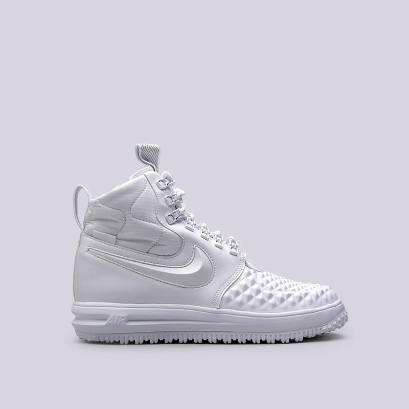 Кроссовки Nike LF1 Duckboot 17 PRMКроссовки lifestyle<br>Кожа, синтетика, текстиль, резина<br><br>Цвет: Белый<br>Размеры US: 8;8.5;9;9.5;10;10.5;11.5;12;12.5;15<br>Пол: Мужской