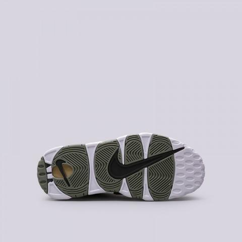 Купить женские зелёные  кроссовки nike wmns air more uptempo в магазинах Streetball - изображение 2 картинки