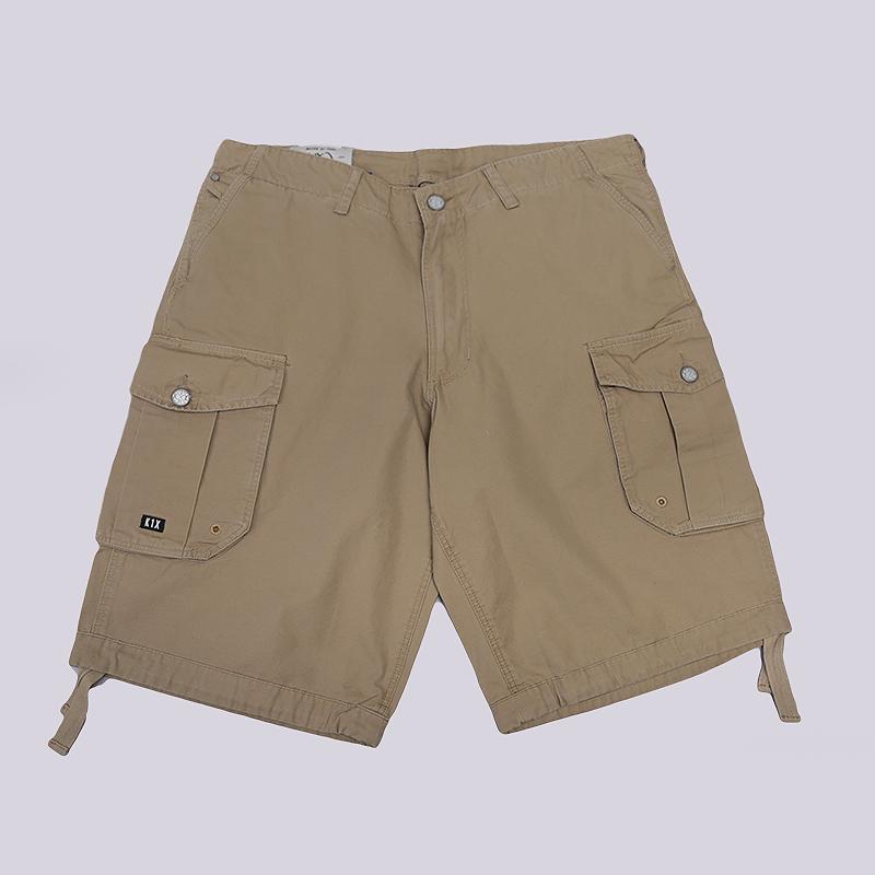 Шорты K1X Vintage Cotton Cargo ShortsШорты<br>100% хлопок<br><br>Цвет: Бежевый<br>Размеры US: 34<br>Пол: Мужской
