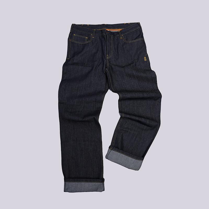 Джинсы K1X Medium Full Cut JeansБрюки и джинсы<br>100% хлопок<br><br>Цвет: Синий<br>Размеры US: 30;32;36<br>Пол: Мужской
