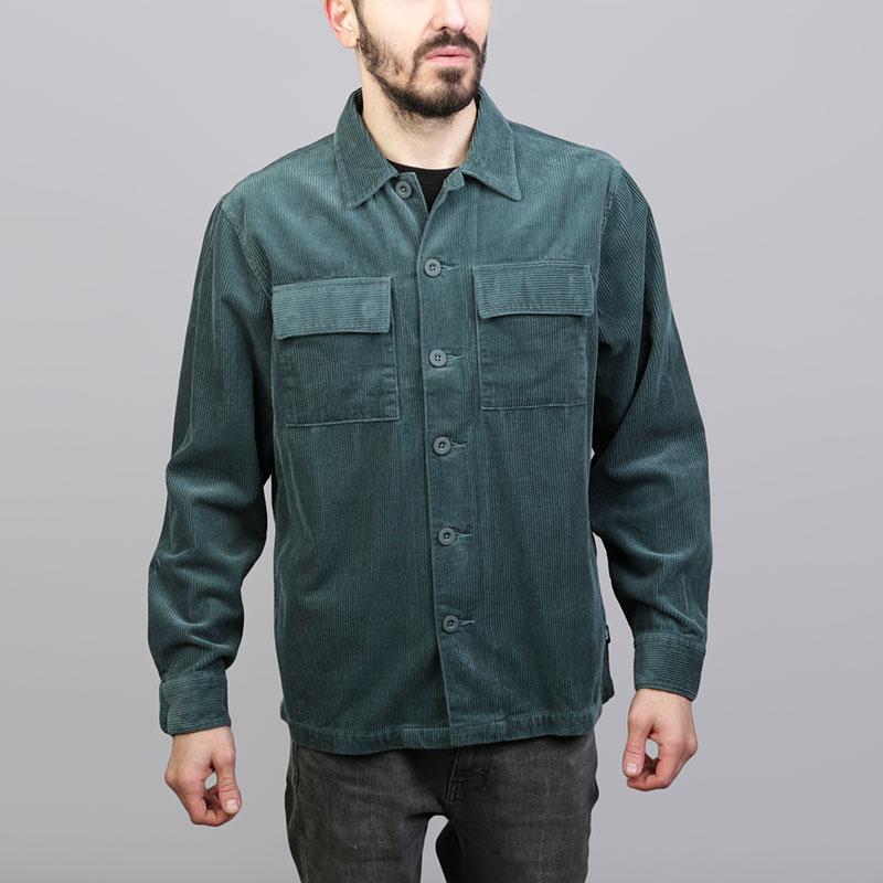 Рубашка Stussy Wide Cord ShirtПоло рубашки<br>Хлопок<br><br>Цвет: Зелёный<br>Размеры US: S<br>Пол: Мужской