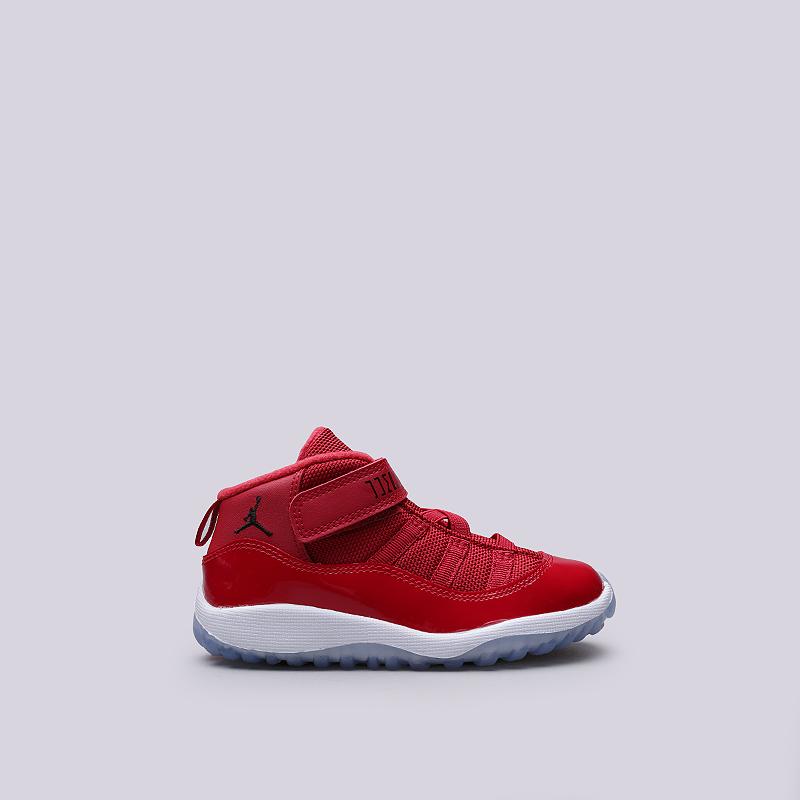 Кроссовки Jordan XI Retro BTКроссовки lifestyle<br>Кожа, текстиль, резина<br><br>Цвет: Красный<br>Размеры US: 7C;8C;10C;5C;6C<br>Пол: Детский