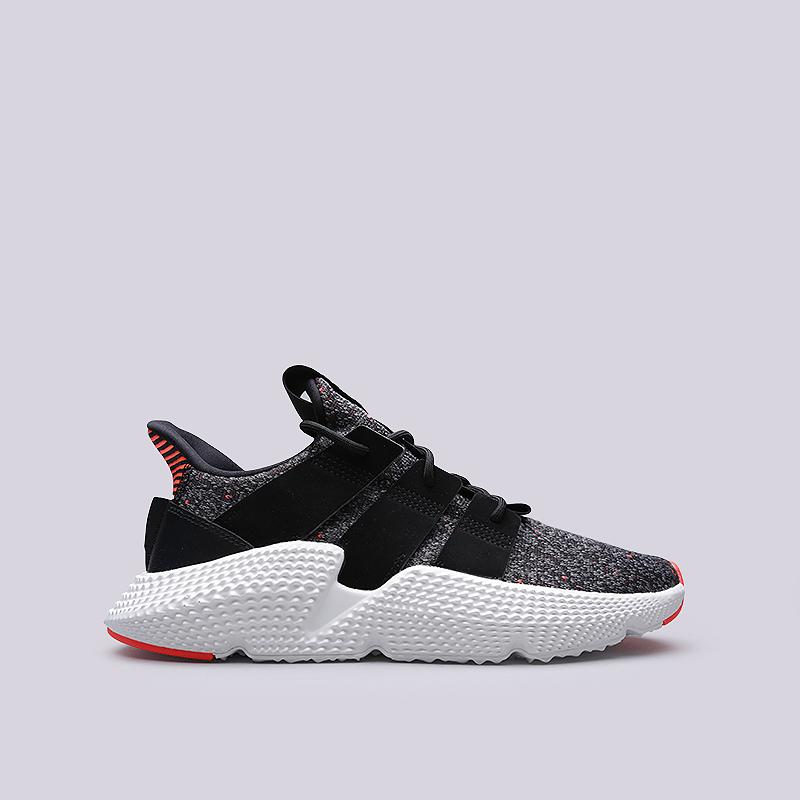 62a61273 мужские черные, серые кроссовки adidas prophere CQ3022 - цена, описание,  фото 1