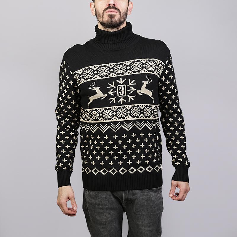 Свитер Запорожец heritage DeerТолстовки свитера<br>100% хлопок<br><br>Цвет: Черный<br>Размеры : S;M;L<br>Пол: Мужской