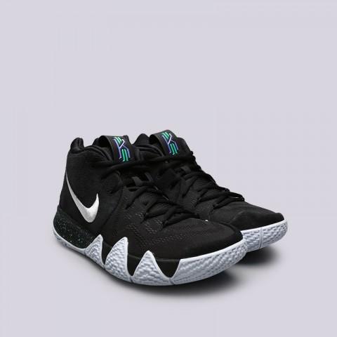 Купить мужские чёрные  кроссовки nike kyrie 4 в магазинах Streetball - изображение 4 картинки