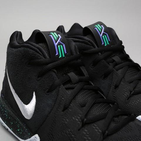Купить мужские чёрные  кроссовки nike kyrie 4 в магазинах Streetball - изображение 5 картинки
