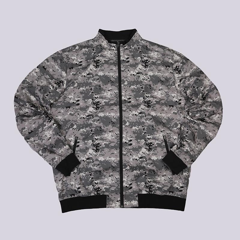 Куртка K1X Digi Camo JacketКуртки, пуховики<br>100% хлопок<br><br>Цвет: Серый<br>Размеры US: 2XL<br>Пол: Мужской