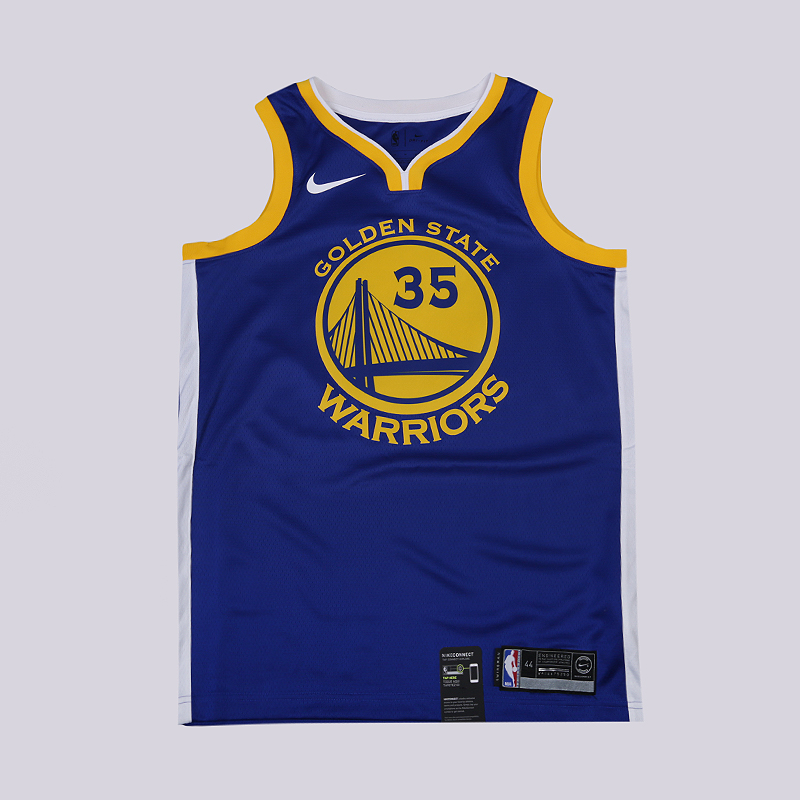Майка Nike Kevin Durant Golden State Warriors Icon Edition SwingmanБезрукавки<br>100% полиэстер<br><br>Цвет: Синий<br>Размеры US: S;M;L;XL;2XL<br>Пол: Мужской