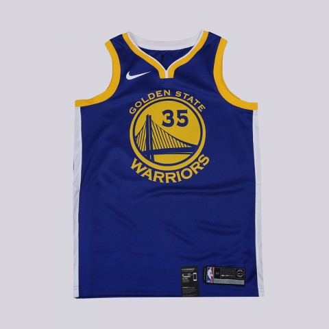 Майка Nike Kevin Durant Golden State Warriors Icon Edition Swingman
