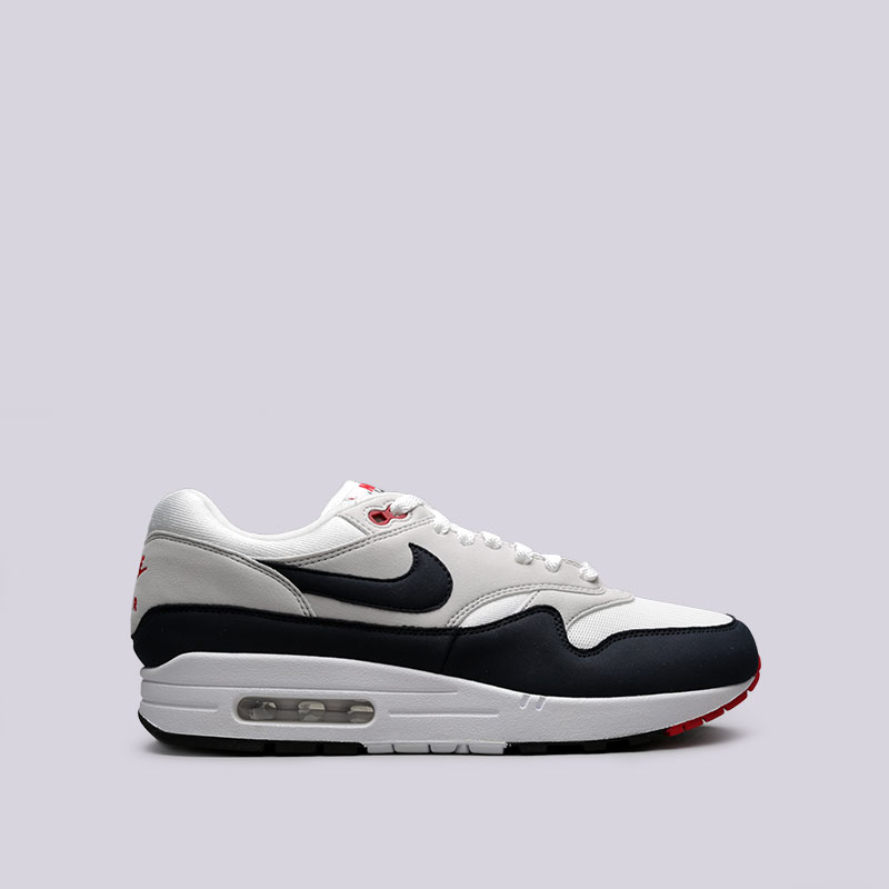 Кроссовки Nike Air Max 1 AnniversaryКроссовки lifestyle<br>Текстиль, резина<br><br>Цвет: Белый, чёрный<br>Размеры US: 7;7.5;8;9;9.5;10;10.5;11.5;12;13<br>Пол: Мужской