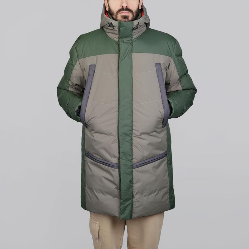 Куртка Запорожец heritage TelogreikaКуртки, пуховики<br>Нейлон, полиэстер<br><br>Цвет: Зелёный, серый<br>Размеры : M;L<br>Пол: Мужской