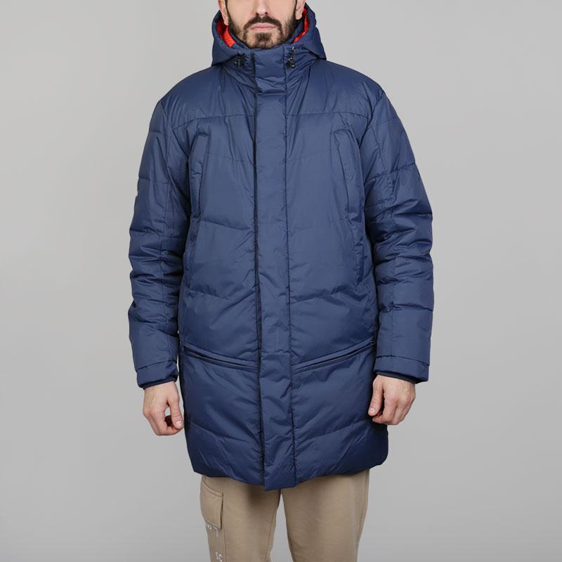 Куртка Запорожец heritage TelogreikaКуртки, пуховики<br>Нейлон, полиэстер<br><br>Цвет: Синий<br>Размеры : S;M<br>Пол: Мужской