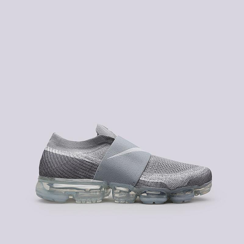 Кроссовки Nike Air VaporMax Flyknit MocКроссовки lifestyle<br>Текстиль, резина, пластик<br><br>Цвет: Серый<br>Размеры US: 9;9.5;10;10.5;11<br>Пол: Мужской