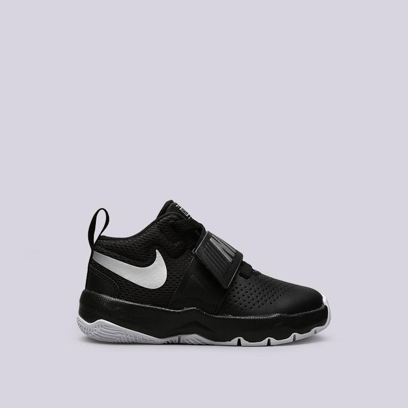 Кроссовки Nike Team Hustle D 8 (PS)Кроссовки баскетбольные<br>Кожа, текстиль, резина<br><br>Цвет: Черный<br>Размеры US: 11C;11.5C;12C;12.5C;13C;13.5C;1Y;1.5Y;2Y;10.5C<br>Пол: Детский