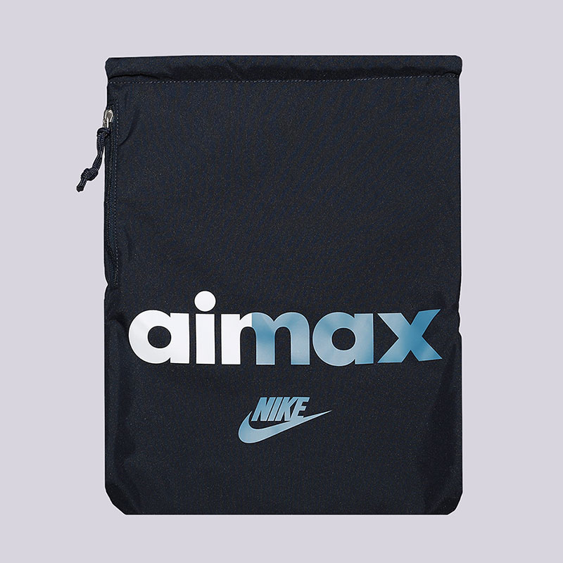 Мешок Nike Heritage Gymsack 13LСумки, рюкзаки<br>Полиэстер<br><br>Цвет: Синий<br>Размеры US: OS