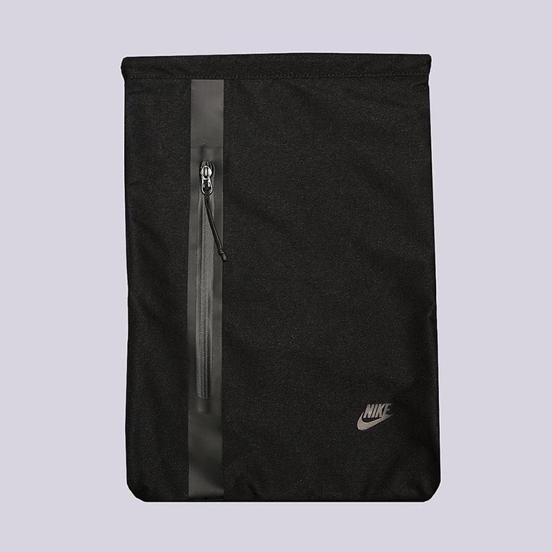 Мешок Nike Tech Gymsack 13LСумки, рюкзаки<br>Полиэстер<br><br>Цвет: Черный<br>Размеры US: OS
