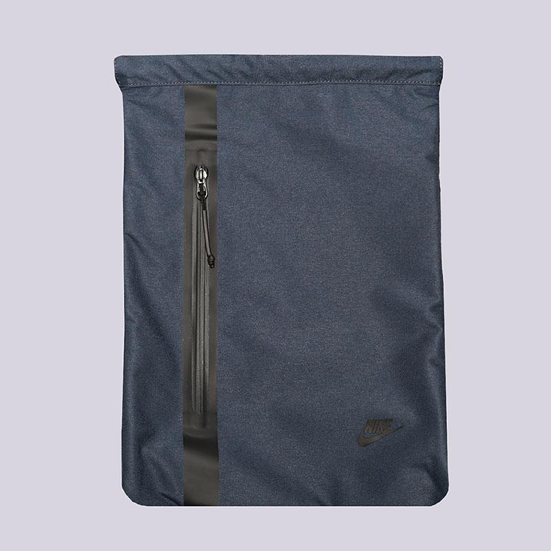 Мешок Nike Tech Gymsack 13LСумки, рюкзаки<br>Полиэстер<br><br>Цвет: Синий<br>Размеры US: OS
