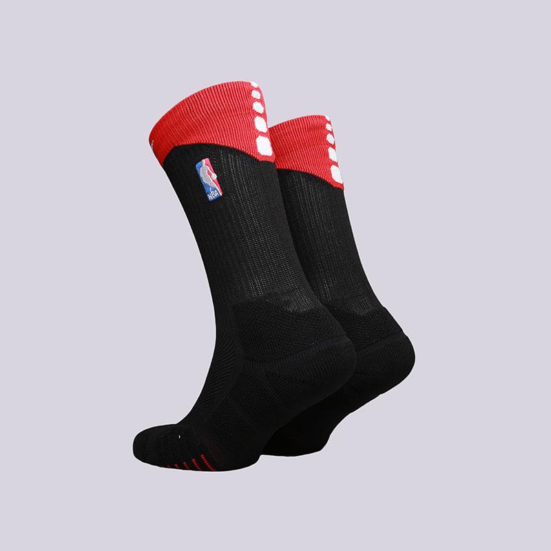 мужские черные  носки nike elite quick crew SX6361-010 - цена, описание, фото 2