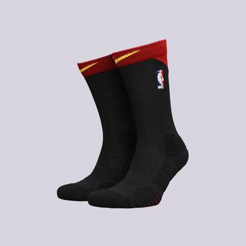 мужские черные  носки nike elite quick crew SX6361-019 - цена, описание, фото 1