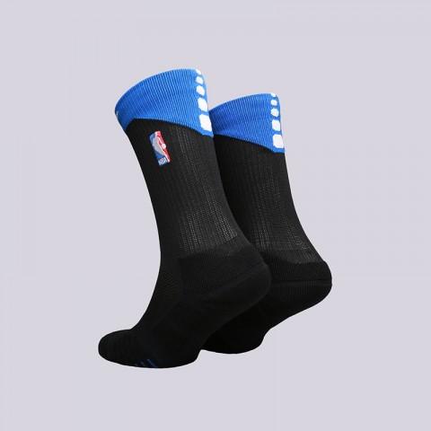 мужские черные  носки nike elite quick crew SX6361-017 - цена, описание, фото 2