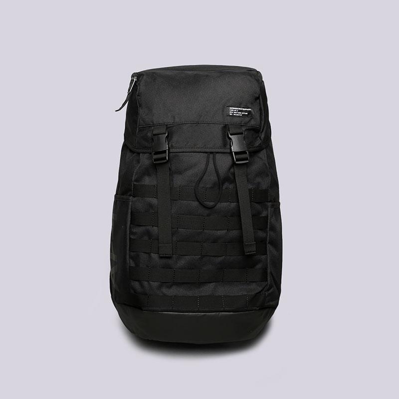 Рюкзак Nike AF1 BackpackСумки, рюкзаки<br>Полиэстер<br><br>Цвет: Черный<br>Размеры US: OS