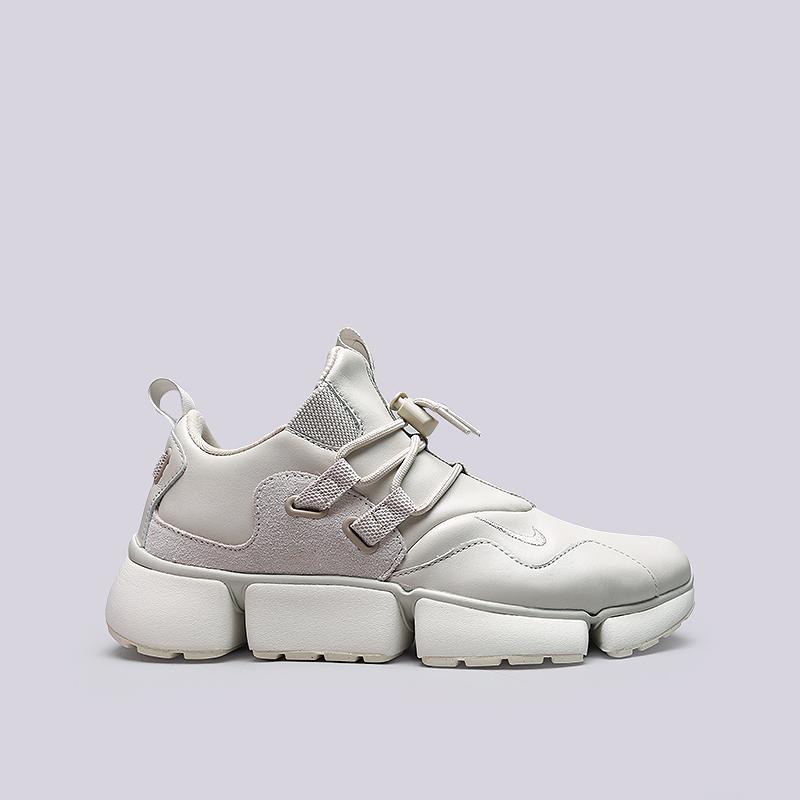 Кроссовки Nike Pocketknife DM LTRКроссовки lifestyle<br>Кожа, текстиль, резина<br><br>Цвет: Бежевый<br>Размеры US: 8;11;11.5<br>Пол: Мужской