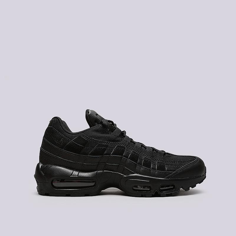 Кроссовки Nike Air Max 95 PRMКроссовки lifestyle<br>Кожа, синтетика, текстиль, резина<br><br>Цвет: Черный<br>Размеры US: 8;8.5;9;9.5;10;10.5;11;11.5;12<br>Пол: Мужской