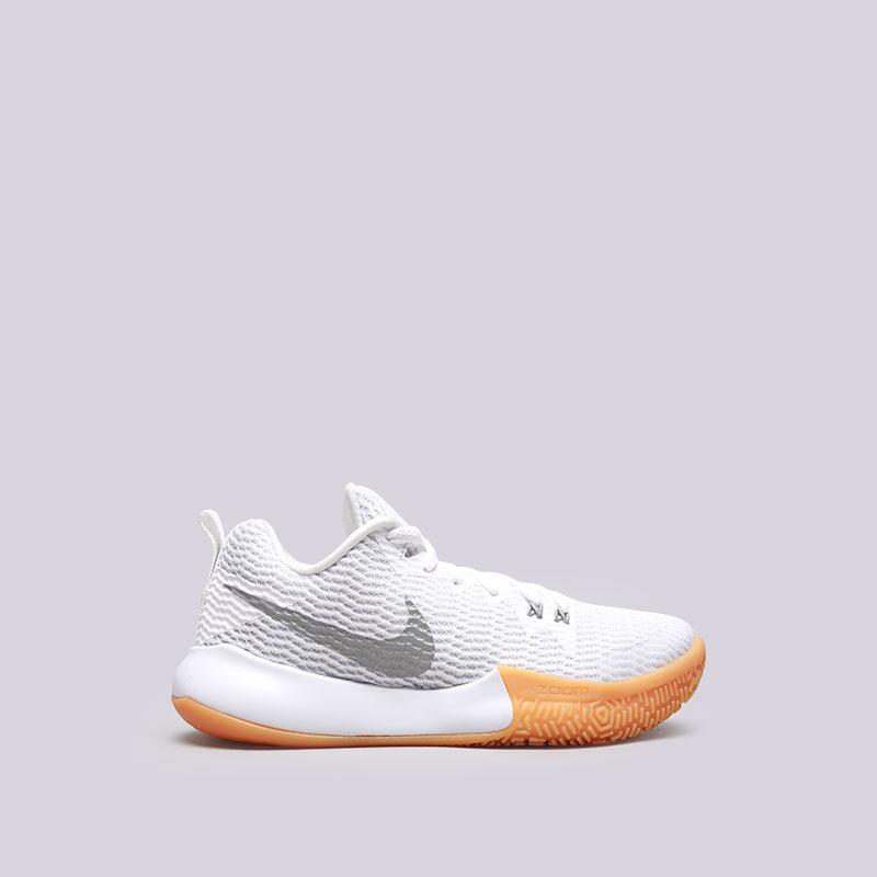 Кроссовки Nike WMNS Zoom Live IIКроссовки баскетбольные<br>Текстиль, пластик, резина<br><br>Цвет: Белый<br>Размеры US: 6;6.5;7;7.5;8;8.5;9<br>Пол: Женский