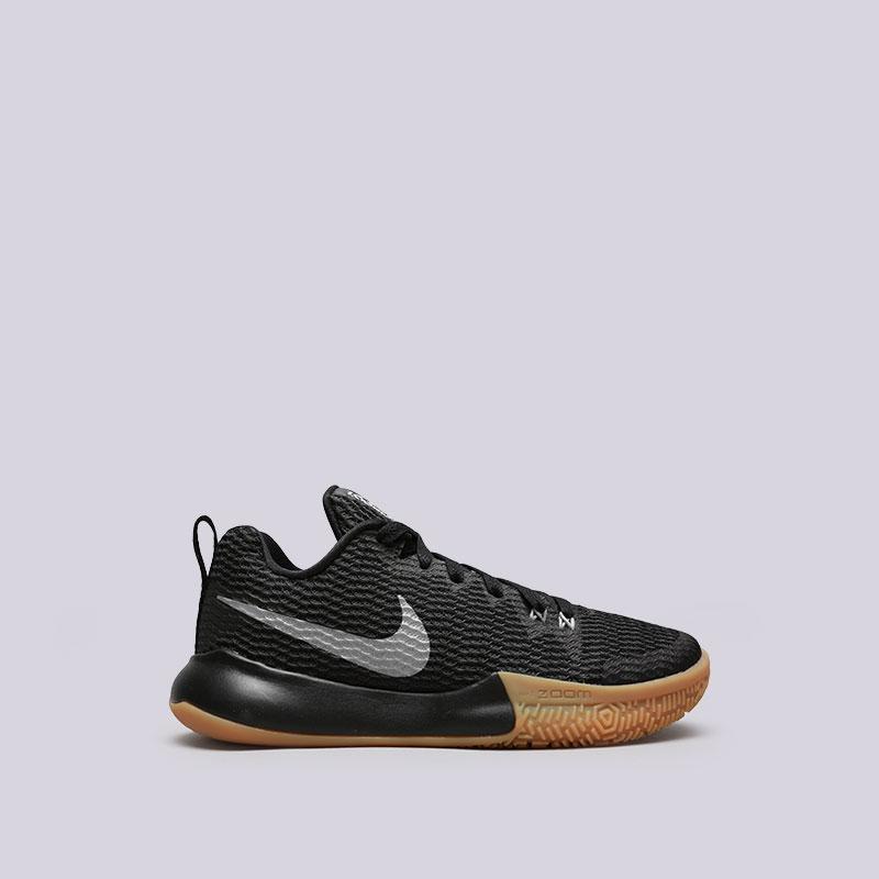 Кроссовки Nike WMNS Zoom Live IIКроссовки баскетбольные<br>Текстиль, пластик, резина<br><br>Цвет: Черный<br>Размеры US: 6;6.5;7;7.5;8;8.5;9<br>Пол: Женский