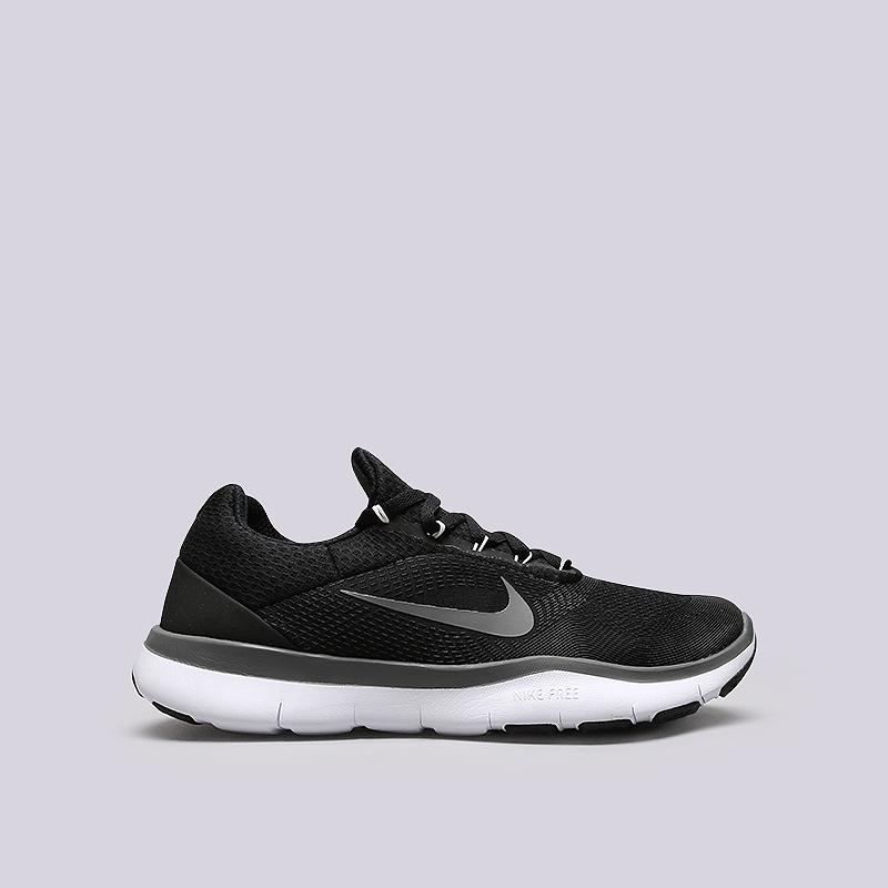 Кроссовки Nike Free Trainer V7Кроссовки lifestyle<br>Текстиль, синтетика, резина, пластик<br><br>Цвет: Черный<br>Размеры US: 8;8.5;9;9.5;10;10.5;11;11.5;12<br>Пол: Мужской