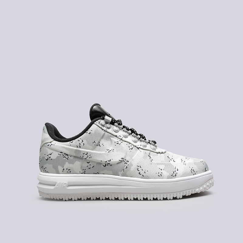 Ботинки Nike LF1 Duckboot LowБотинки<br>Текстиль, резина<br><br>Цвет: Серый<br>Размеры US: 8;8.5;9;9.5;10;10.5;11;11.5;12<br>Пол: Мужской