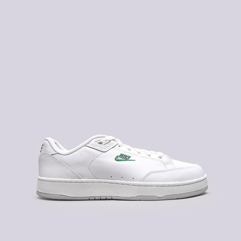 be333983 мужские белые кроссовки nike grandstand ii premium AA8005-100 - цена,  описание, фото