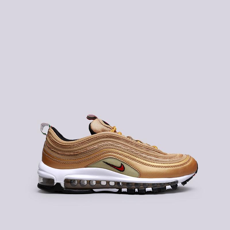 Кроссовки Nike Air Max 97 ITКроссовки lifestyle<br>Текстиль, резина<br><br>Цвет: Золотой<br>Размеры US: 8;8.5;9;9.5;10;10.5;11;11.5;12<br>Пол: Мужской