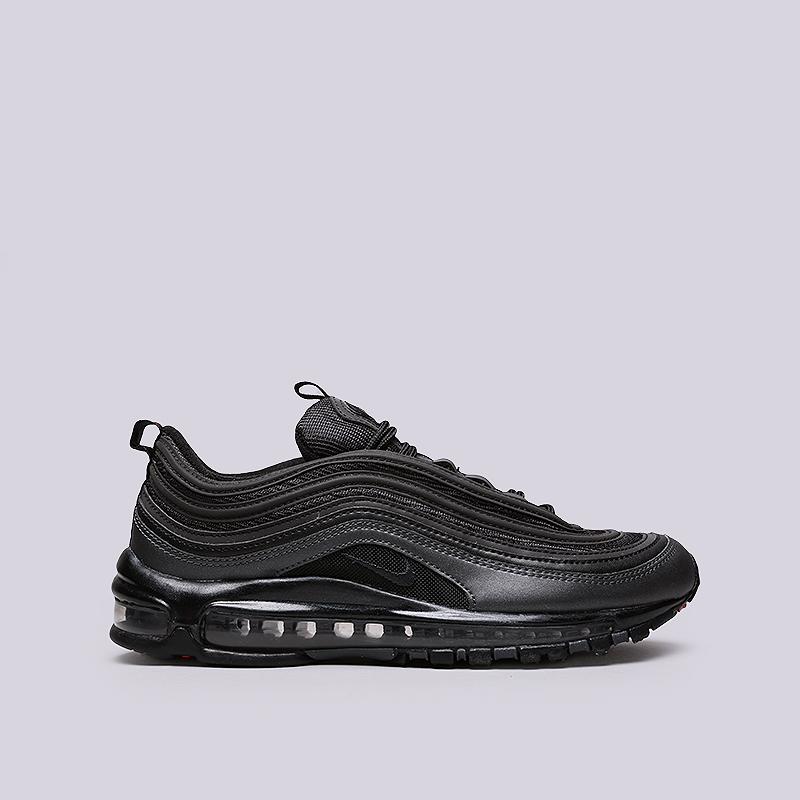 Кроссовки Nike Air Max 97Кроссовки lifestyle<br>Текстиль, резина<br><br>Цвет: Черный<br>Размеры US: 8;8.5;9;9.5;10;10.5;11;11.5;12<br>Пол: Мужской