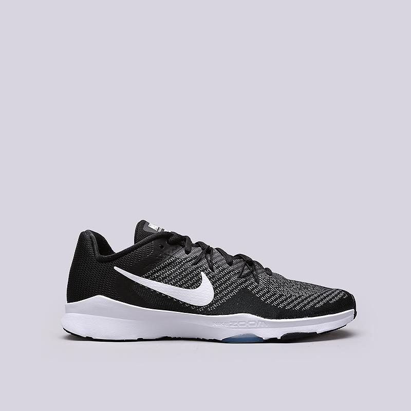 Кроссовки Nike WMNS Zoom Condition TR 2Кроссовки lifestyle<br>Текстиль, синтетика, резина<br><br>Цвет: Черный<br>Размеры US: 5.5;6;6.5;7;7.5;8;8.5<br>Пол: Женский