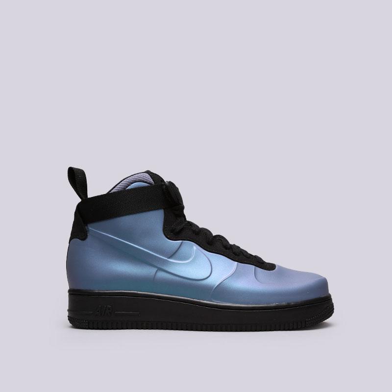 Кроссовки Nike Air Force 1 Foamposite CupКроссовки lifestyle<br>Синтетика, текстиль, резина<br><br>Цвет: Голубой<br>Размеры US: 8;8.5;9;9.5;10;10.5;11;12<br>Пол: Мужской
