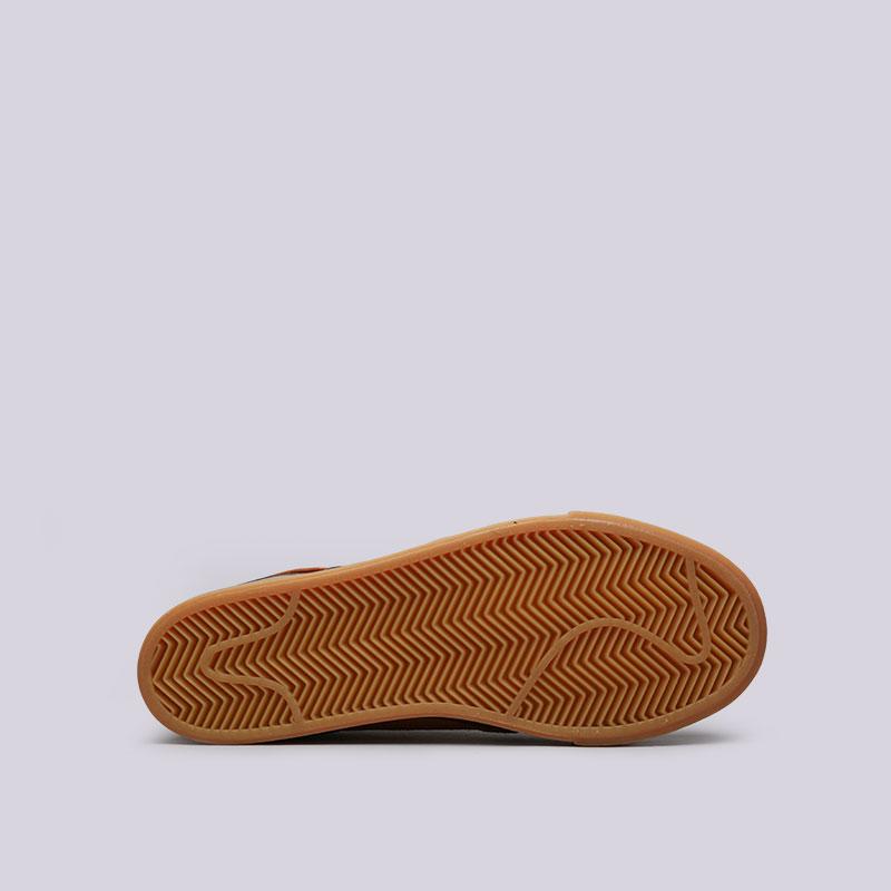 8ce08a25 мужские коричневые кроссовки nike sb zoom stefan janoski 333824-214 - цена,  описание,