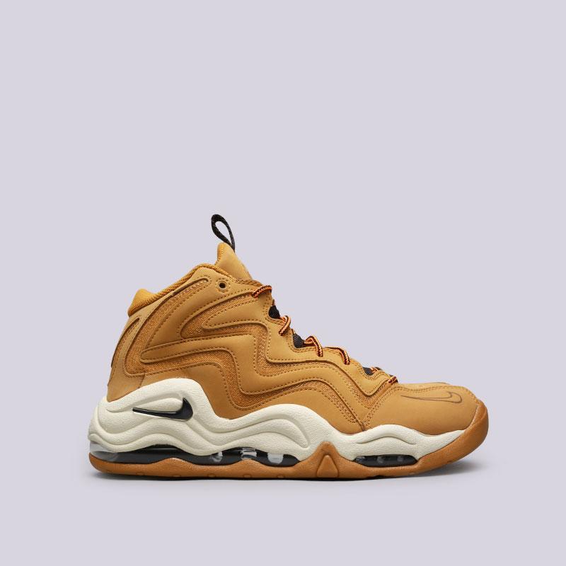 Кроссовки Nike Air PippenКроссовки lifestyle<br>Синтетика, кожа, текстиль, резина, пластик<br><br>Цвет: Коричневый<br>Размеры US: 8;8.5;9;9.5;10;10.5;11;11.5;12;12.5;13<br>Пол: Мужской