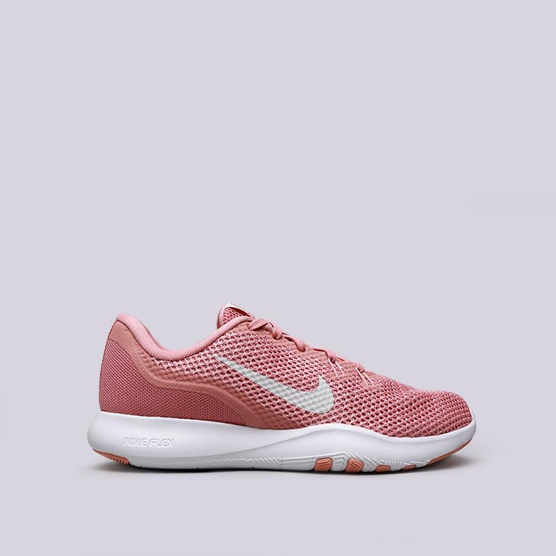 Кроссовки Nike WMNS Flex Trainer 7Кроссовки lifestyle<br>Текстиль, пластик, резина<br><br>Цвет: Розовый<br>Размеры US: 5.5;6;6.5;7;7.5<br>Пол: Женский