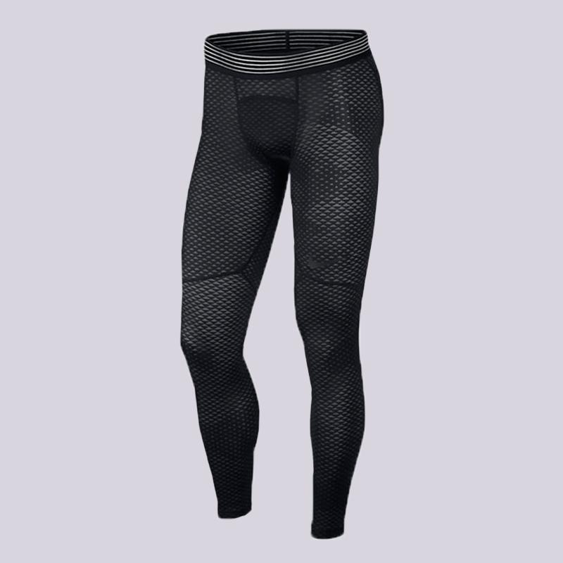 Тайтсы Nike Pro HyperCool Training TightsКомпрессионное белье<br>95% полиэстер, 5% эластан<br><br>Цвет: Черный<br>Размеры US: S;M;L;XL;2XL<br>Пол: Мужской