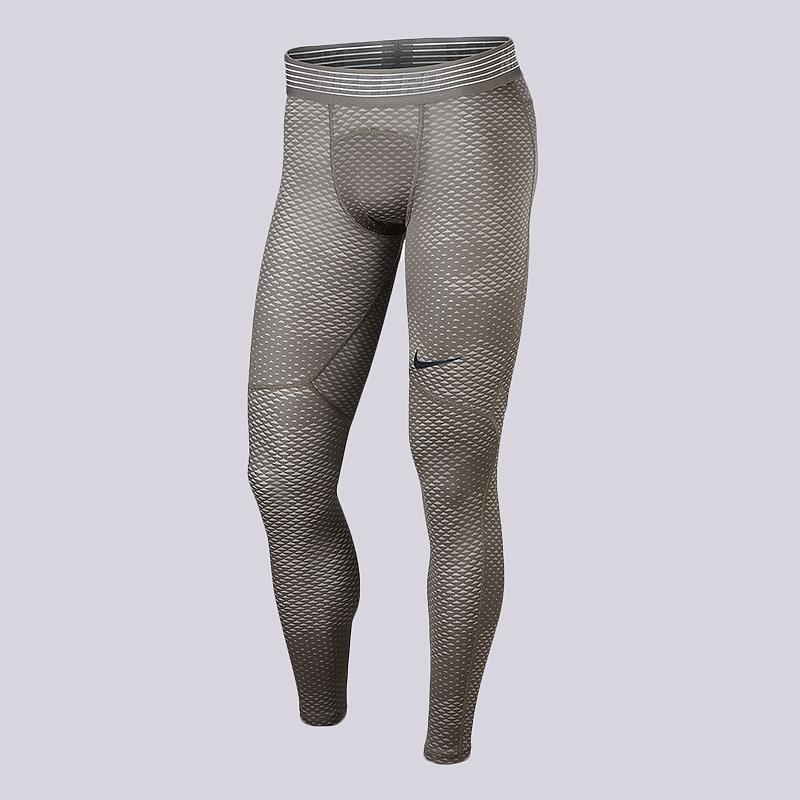 Тайтсы Nike Pro HyperCool Training TightsКомпрессионное белье<br>95% полиэстер, 5% эластан<br><br>Цвет: Бежевый<br>Размеры US: S;M;L;XL;2XL<br>Пол: Мужской