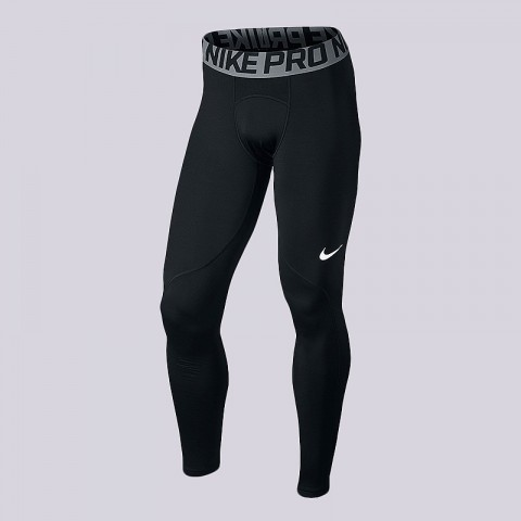 565b287f мужские черные тайтсы nike pro warm training tights 838038-010 - цена,  описание, ...