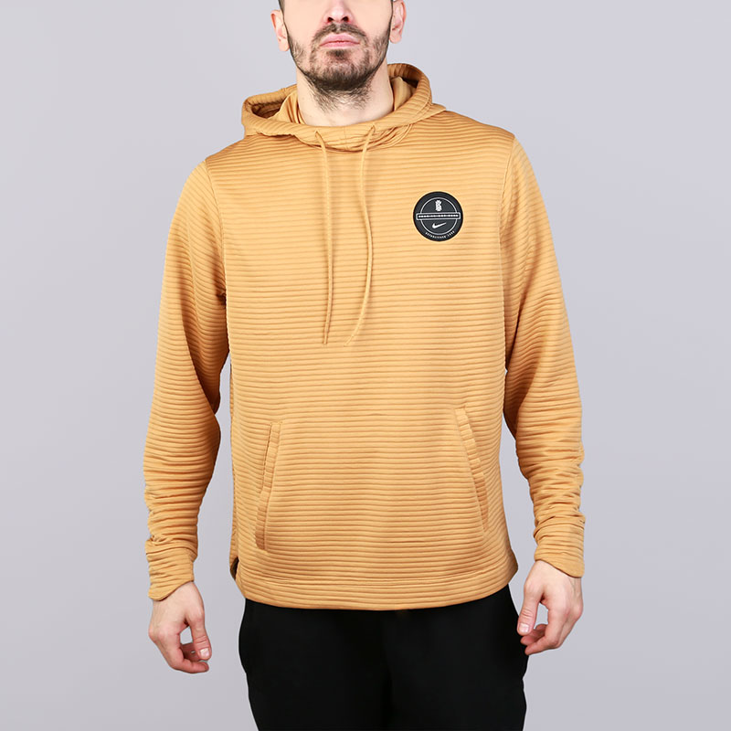 Толстовка Nike Dry Kyrie HoodieТолстовки свитера<br>Полиэстер<br><br>Цвет: Золотой<br>Размеры US: S;M;L;XL;2XL<br>Пол: Мужской