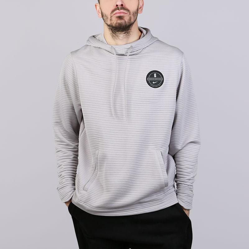 Толстовка Nike Dry Kyrie HoodieТолстовки свитера<br>Полиэстер<br><br>Цвет: Серый<br>Размеры US: S;M;L;XL;2XL<br>Пол: Мужской