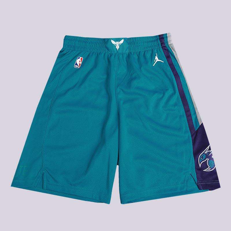 Шорты Jordan NBA Charlotte Hornets Jordan Icon Edition SwingmanШорты<br>100% полиэстер<br><br>Цвет: Голубой<br>Размеры US: S;M;L;XL;2XL<br>Пол: Мужской